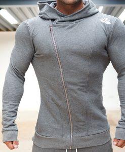 XA1 long sleeve vest anthracite front