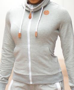jogging grijs top
