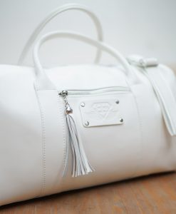 womens bag white side front