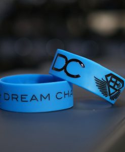 DC wrist band blue
