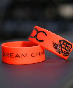 DC wrist band red