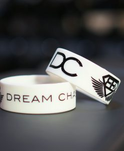 DC wrist band white
