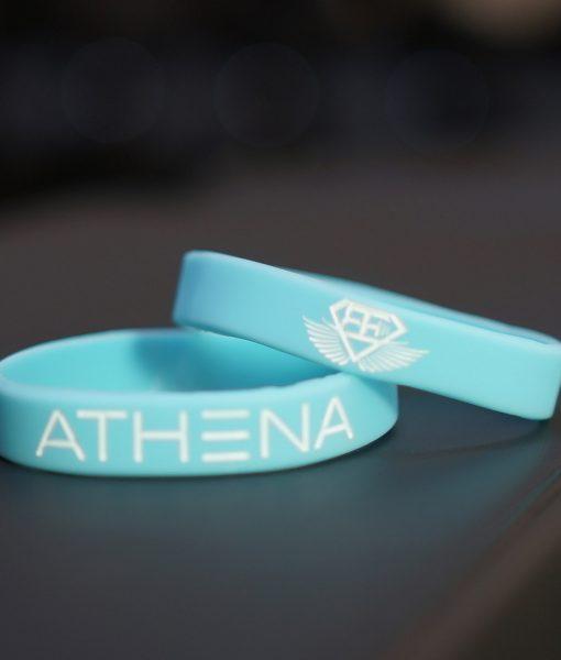 athena wristband blue