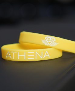 athena wristband yellow