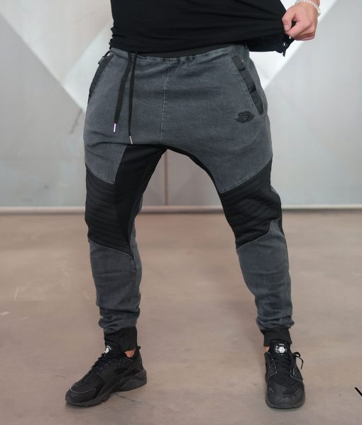 Product Features Slim fit jogger pants, slightly tapered legs with elasticized cuffs.