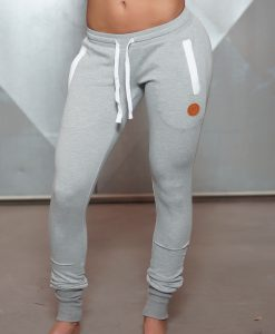 jogger grey front side