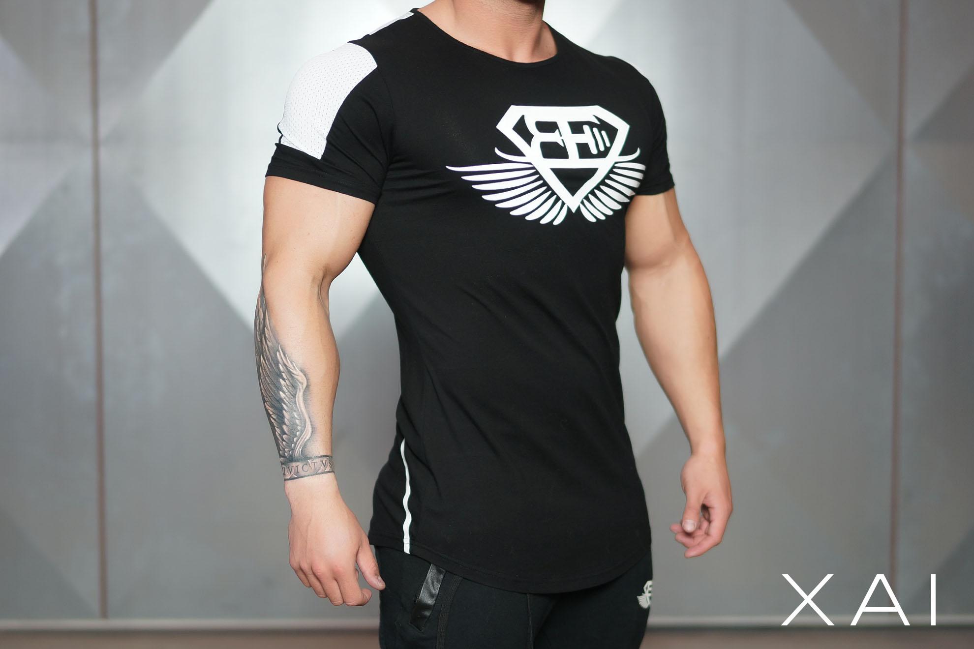 XA1 T shirt VINDICT – Black Out – Body Engineers International SHOP