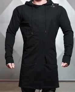 neri long jacket front