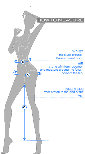 size guide women bottom