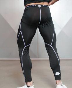 ventus black legging back side