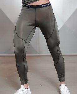 ventus olive legging front side