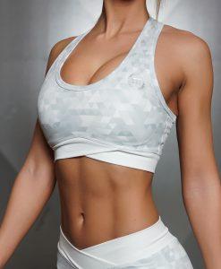 GEO bra WHITE front