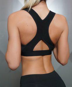 Tesla bra black back
