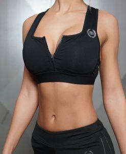 Tesla bra black front