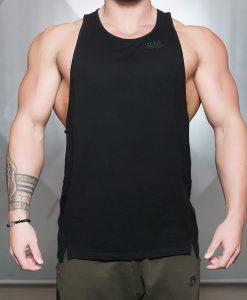 tank black front