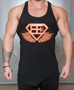 xa1 stringer black orange