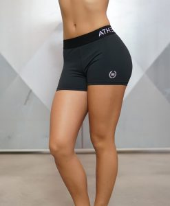 athena black short