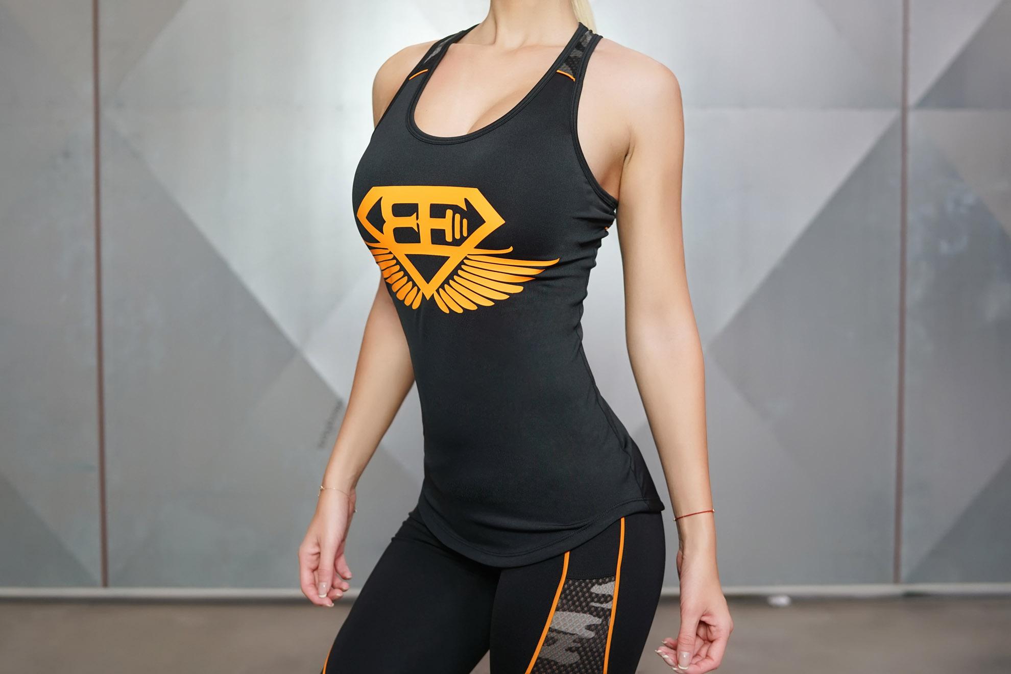 ares tank top black dutch orange body engineers international shop. Black Bedroom Furniture Sets. Home Design Ideas