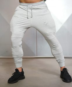 savage jogger grey back