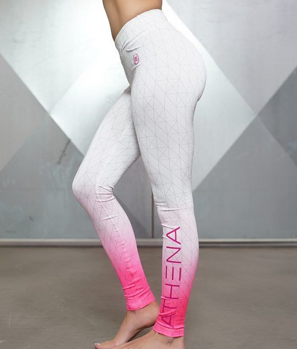 Gradient Legging - Graphic White