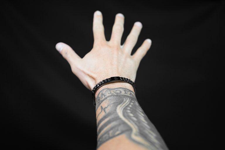 ANIMA Iron Chain- Bracelet
