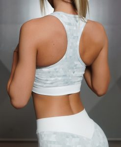GEO Sports Bra - Light Grey