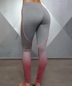 Gradient Legging - Grey Melange