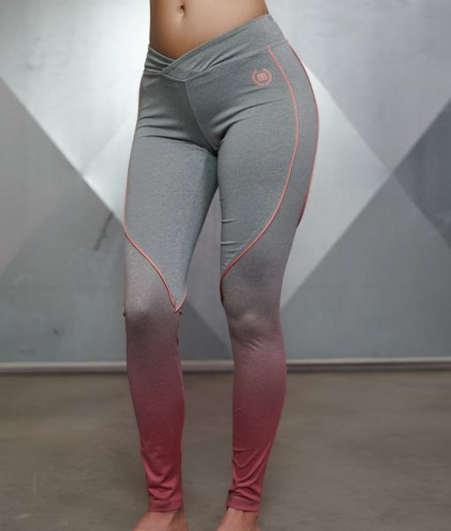 Gradient Legging - Grey Melange