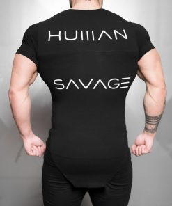 HUMAN SAVAGE Shirt - Black Out