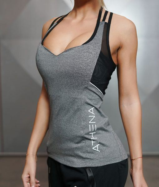 CETO SPIDER Tank Top - Grey Melange