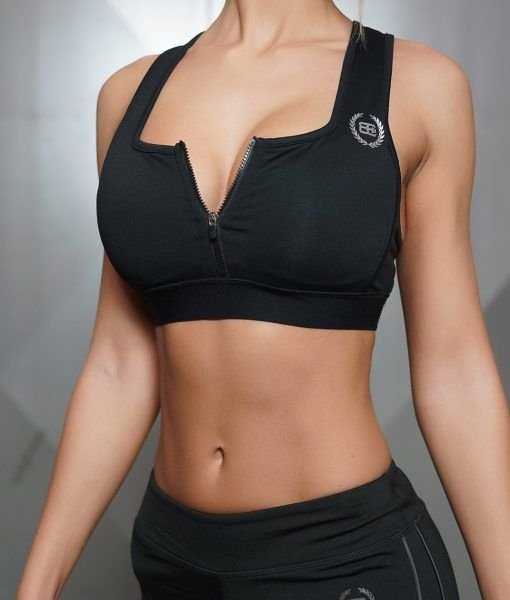 LOTUS Tesla Sports Bra - ALL BLACK