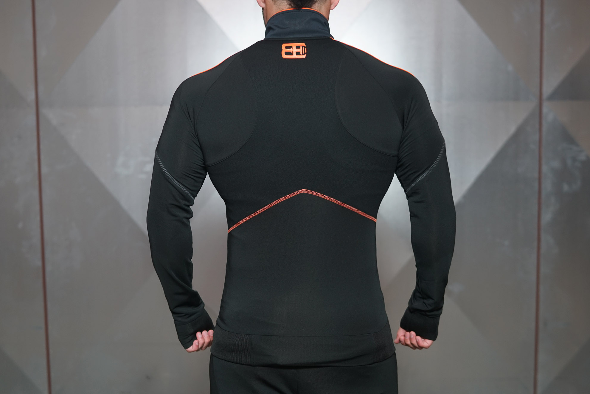 ANAX Performance Vest - Black & Dutch Orange