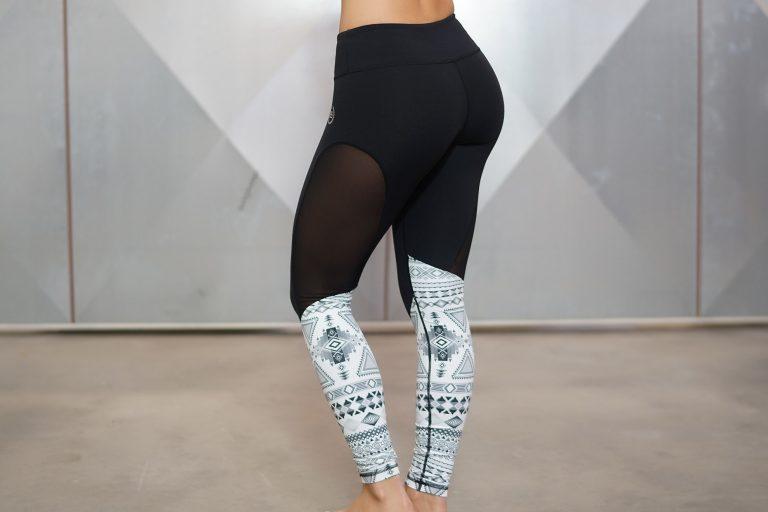 Athena Maori Legging - Black