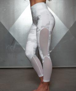 ATHENA SNOW CAMO Legging - HIGH WAIST SCULPTING 7/8