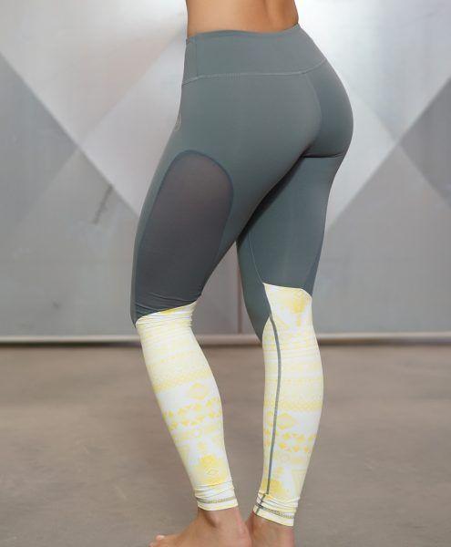 ATHENA Maori Legging - Yellow