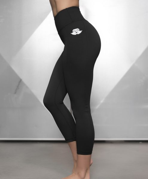 BASIX LEGGING High Waist Sculpture 7/8 - Black out