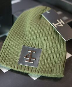 Invictus Beenie - MILITARY GREEN gun metal