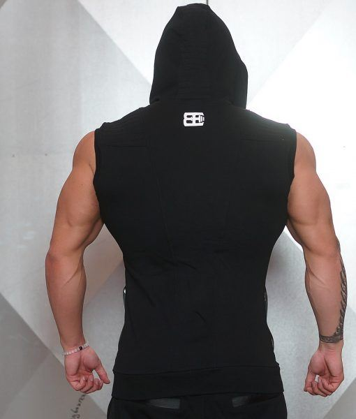 YUREI Sleeveless vest - ALL BLACK