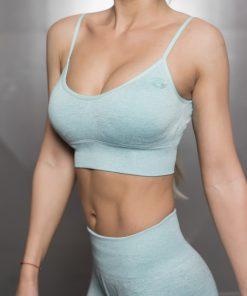 Valkyrie Seamless Sports Bra - Mint