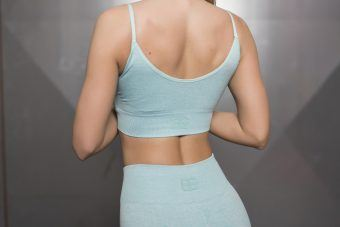 Valkyrie Seamless Sports Bra - Mint