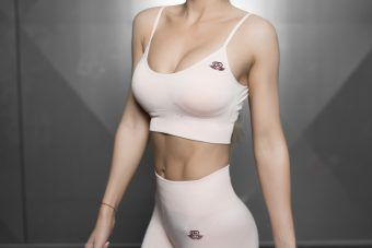 Valkyrie Seamless Sports Bra - Nude
