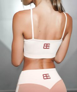 ATHENA COMFORT CROP TOP - Nude