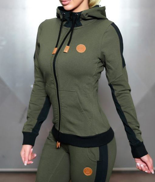 GAIA HOODIE 2.0 - ARMY GREEN