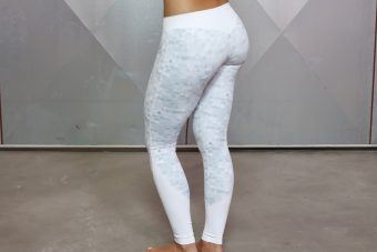 ATHENA GEOmetric legging - White/Grey