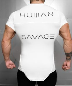 HUMAN SAVAGE Shirt - White Out