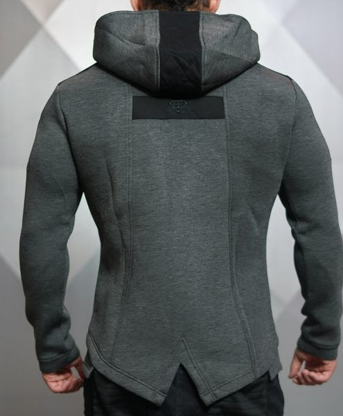 IGNIS Jacket - Dark Grey Melange