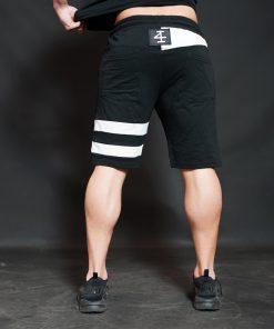 KENTO Shorts - Black & Light Grey