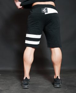 KENTO Shorts - Black & Light Grey