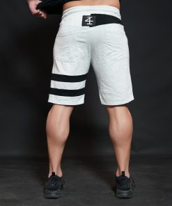KENTO Shorts - Light Grey & Black