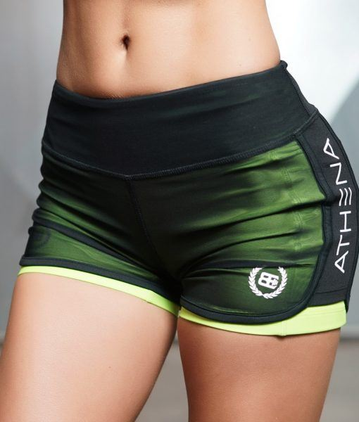 LOTUS Leto - GREEN 2 in 1 Short